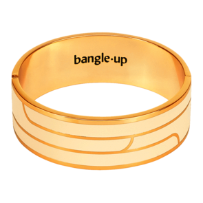 Bijoux Bangle Up Bracelet Gaya - Blanc Sable T1