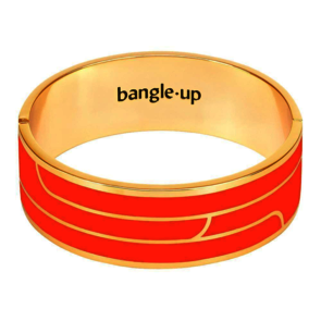 Bijoux Bangle Up Bracelet Gaya - Tangerine T2